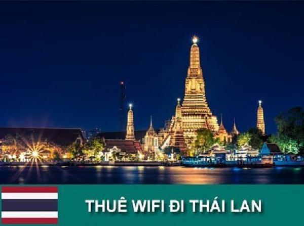 Wifi du lịch nước ngoài Thái Lan thuê ngay trong nước
