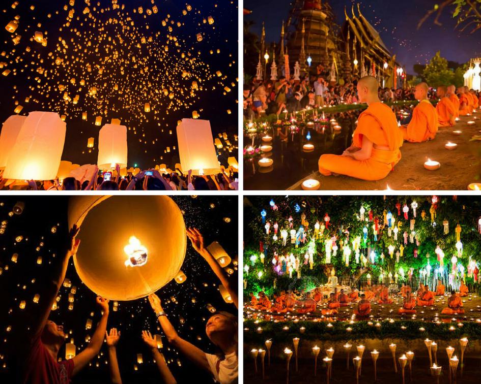 Những lễ hội không thể bỏ qua bạn phải biêt khi chuẩn bị du lịch Thái Lan